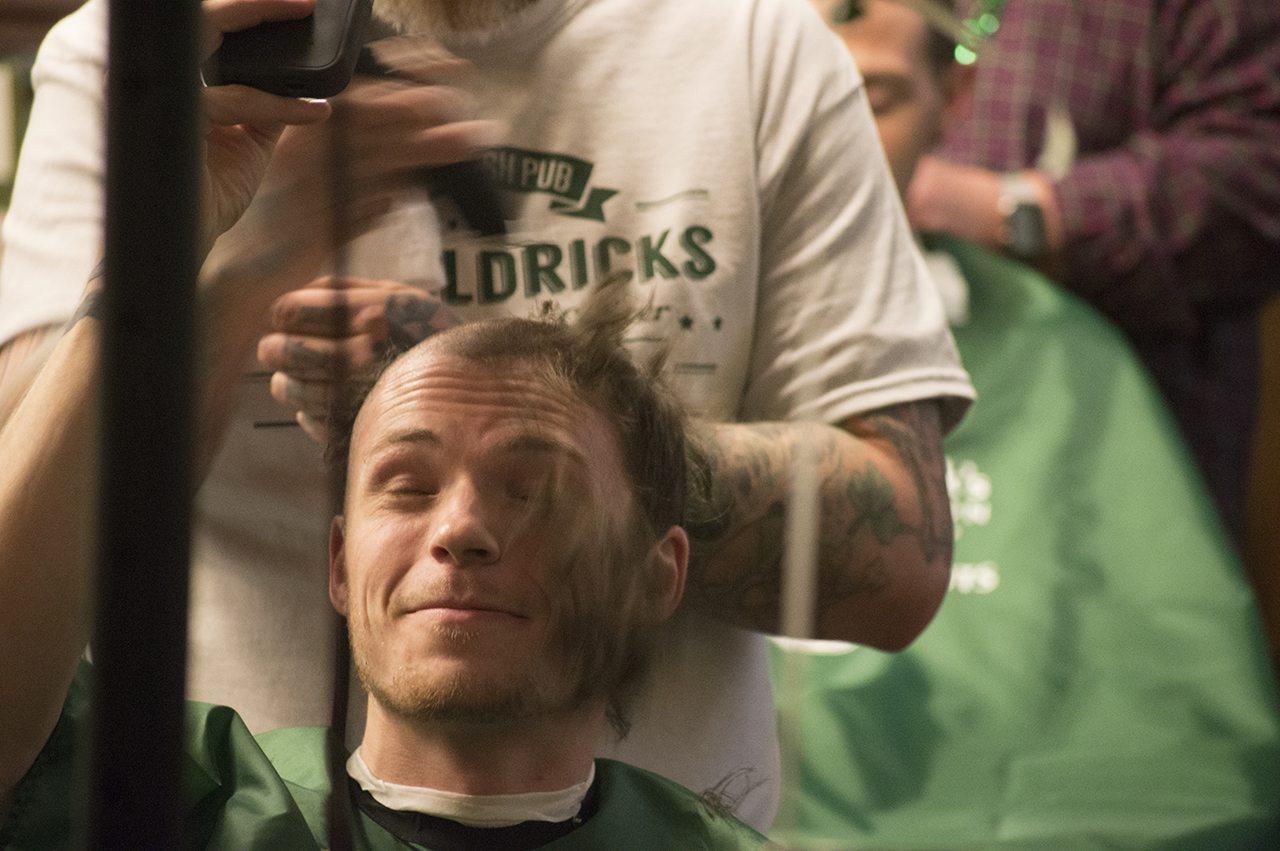 Shaving Heads And Saving Kids R R Irish Pub Atlanta