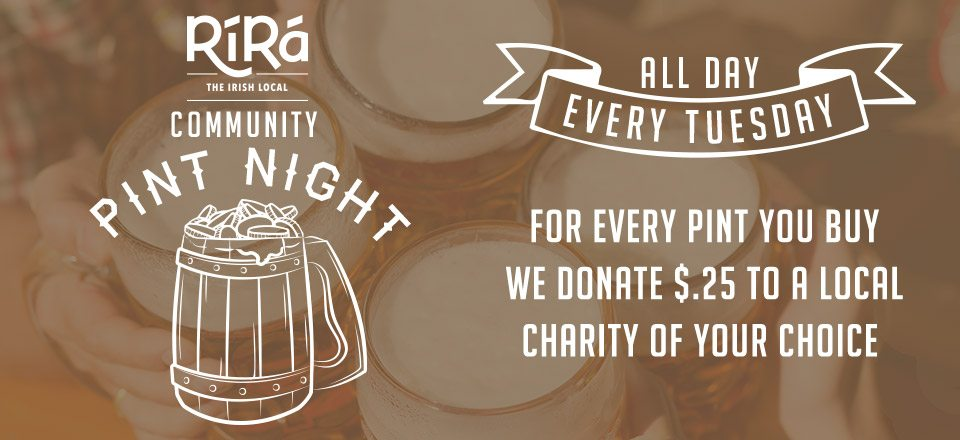Community Pint Night
