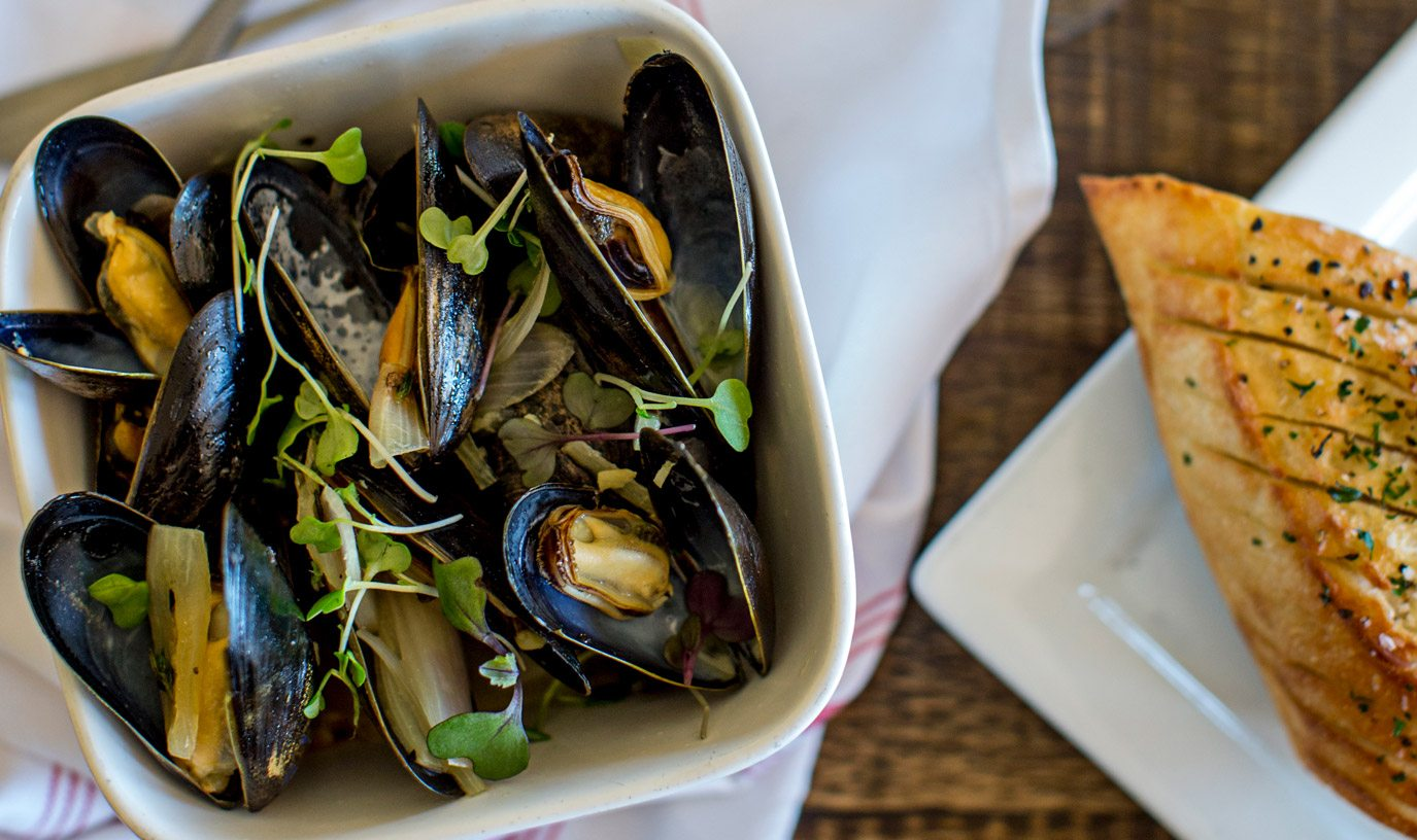 Whiskey Mussels