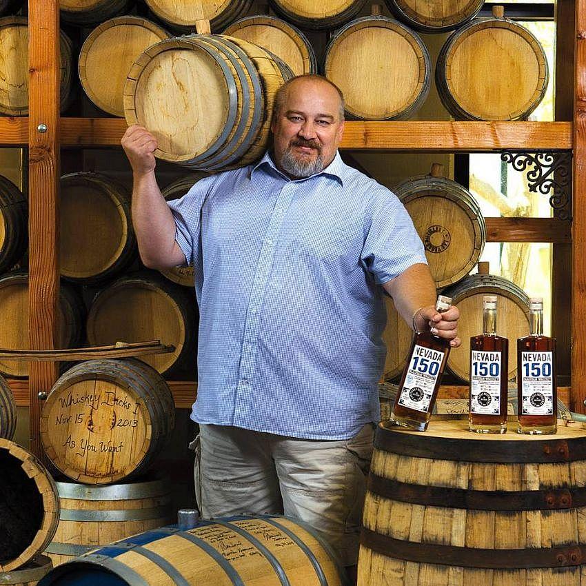 George Racz - Las Vegas Distillery